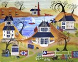 Americana Seaside Quilts Under Willow Trees