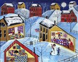 Winter Moon Quilter Village