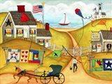Americana Oceanside Kite And Quilt Maker