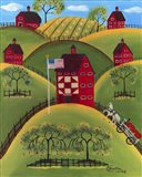 Red Apple Quilt Barns