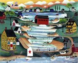 Folk Art Angel Over Falls Village