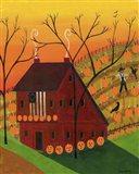 Sunset Pumpkin Saltbox