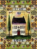 American Flag Angel Live Love