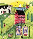 Faith Family Red Farmhouse