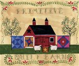 Primitive Quilt Barn Sampler