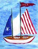 U.S.A. Sailboat