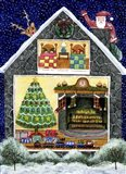 Santa Reindeer Christmas Eve Visit