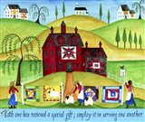 Red Barn Quilt House