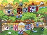 Olde Tyme Village Quilt Maker
