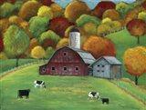 Colors of Autumn Barnyard