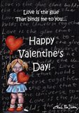 Love is the Glue Valentines Day