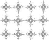 Thistle Flower Pattern