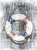 Life Preserver Patriotic Nautical