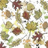 Multi Leaf Splats Pattern