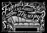 Friends Are The Best Therapy