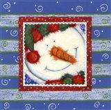 Scarf Snowman 1