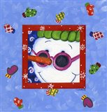 Snowman Glasses