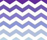 Purple-Blue Chevron