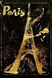 Gold Eiffel