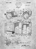 Military Vehicle Body Patent