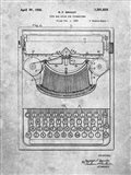 Type Bar Guide for Typewriters Patent