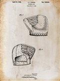 B Glove White Patent