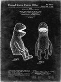 Puppet Doll Patent - Black Grunge