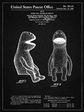 Puppet Doll Patent - Vintage Black