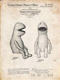 Puppet Doll Patent - Vintage Parchment