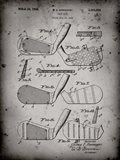Golf Club Patent - Faded Grey