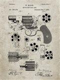 Revolving Fire Arm Patent - Sandstone
