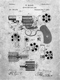 Revolving Fire Arm Patent - Slate