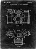 Photographic Camera With Coupled Exposure Meter Patent - Black Grunge