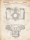 Photographic Camera With Coupled Exposure Meter Patent - Vintage Parchment