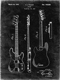 Guitar Patent - Black Grunge