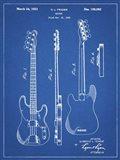 Guitar Patent - Blueprint