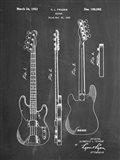 Guitar Patent - Chalkboard
