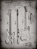 Guitar Patent - Faded Grey