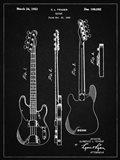 Guitar Patent - Vintage Black