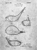 Metallic Golf Club Head Patent - Slate