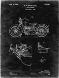 Cycle Support Patent - Black Grunge