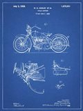 Cycle Support Patent - Blueprint