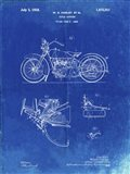 Cycle Support Patent - Faded Blueprint