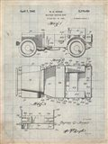 Military Vehicle Body Patent - Antique Grid Parchment