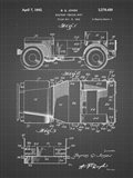 Military Vehicle Body Patent - Black Grid