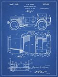 Military Vehicle Body Patent - Blueprint