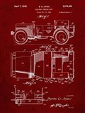 Military Vehicle Body Patent - Burgundy