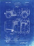 Military Vehicle Body Patent - Faded Blueprint