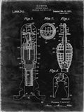 Explosive Missile Patent - Black Grunge