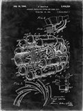 Aircraft Propulsion & Power Unit Patent - Black Grunge